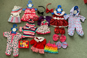 build a bear huge clothes bundle 9 X outfits Shoes Accessories Babw