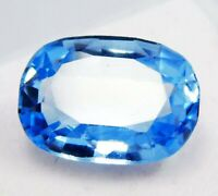 CERTIFIED 100%Natural Genuine Blue Untreated Aquamarine 8 Ct Loose Gemstone