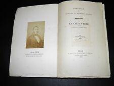 LAURANT Biographie Lucien VIDIE Histoire Baromètres Manomètres Anéroïdes EO 1867