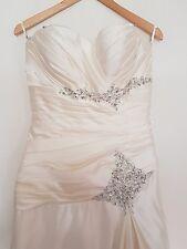 ivory wedding dress size 12 approx