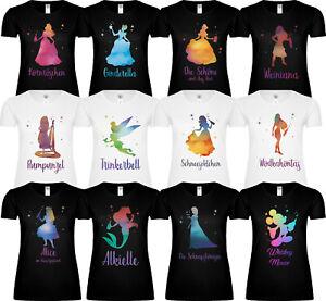 T-Shirt Mädels Braut Karneval Shirt für JGA Abschied Trinkerbell Party Malle