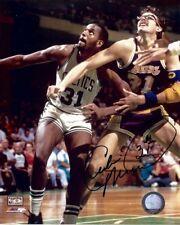 Cedric Maxwell Signed Autographed 8X10 Photo Celtics Battle vs. Lakers w/COA