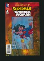 Superman Wonder Woman Futures End #1 (New 52), 3D Motion Cover
