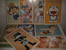 Manga Anime Bravestarr Sailor Moon Doraemon Slam Dunk Optimus Mario Postcards