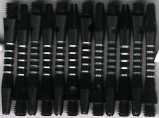 1.5in. 2ba Black-Silver Aluminum Dart Shafts: 3 per set