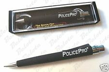 Fisher Space Pen Police Pro Black Ink Rubber Grip PPRO PPROMB