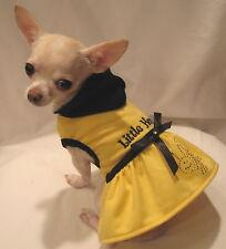 Dog Clothes//Dog Hoodie/Little Honey Dog Dress FREE SHIP- Sizes XXS, XS, M, L