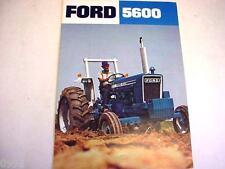 Ford 5600 Farm Tractor Brochure  *