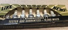Autolite BF82 Spark Plugs x8 Ford Mercury Lincoln 1950s 1960s NOS
