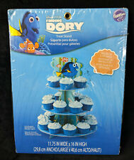 Disney Pixar Finding Dory 3 Tier Cupcake Stand Party Supplies Wilton NEW