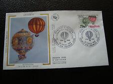 ANDORRE (francais) - enveloppe 1er jour 26/2/1983 (air/espace) (cy63) andorra(I)