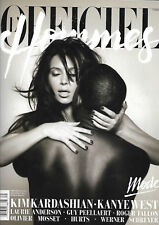 L'Officiel Hommes Paris - March-April-May 2013 - Kim Kardashian/Kanye West
