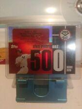 2007 Topps Arod Alex Rodriguez Road to 500 #ARHr 500 Home Run 500