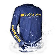 KastKing Long-Sleeve T-Shirt Moisture Wicking Sports & Fishing SPF 50 UV - S