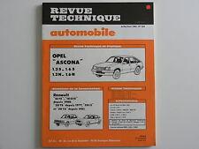 revue technique automobile RTA neuve Opel ASCONA  n° 424
