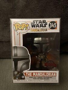 Funko Pop Star Wars The Mandalorian #345 Chrome Special Edition
