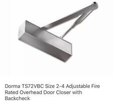 Dorma TS83 BCA DC Door Closer Backcheck and Delayed Closing EN 3-6 New
