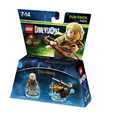 Toys-Lego Dimensions: Fun Pack - Lord of the Rings Legolas /Video Game  GAME NEW