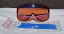 2014 NWT ADIDAS AH80 CATCHLINE SNOW GOGGLES REPLACEMENT LENS $50 Silver Amber