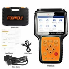 FOXWELL NT650Elite Auto Diagnostic OBD2 Scanner ABS EPB DPF TPMS NT650 Updated