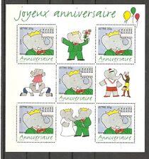 FRANCE 2006..Miniature Sheet n° 100 MNH** ..Happy Birthday...Joyeux Anniversaire