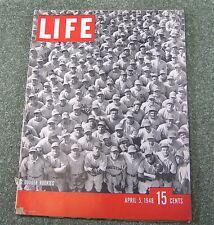 Life Magazine, DODGER ROOKIES , Aptil 5 1948