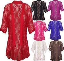 Unbranded Women's 3/4 Sleeve Waist Length Jumpers & Cardigans