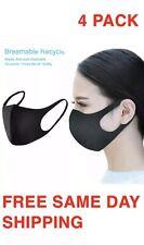 4 Pack - Washable Fashion Face Mask -  Reusable Anti-dust Mask - FREE SHIPPING