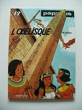EO 1989 (très bel état) - Papyrus 12 (l'obélisque) - De Gieter - Dupuis