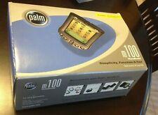 Palm M100 Handheld Organizer Pda Genuine Complete in Retail Box Warranty