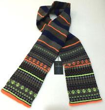 Sciarpa da uomo multicolore in misto lana