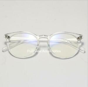Ultra Light Weight Transparent Vintage Classical Style Eyeglasses Rx-able