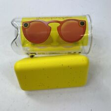 Snap Inc. Snapchat Spectacles Specs Glasses Coral Red New Open Box