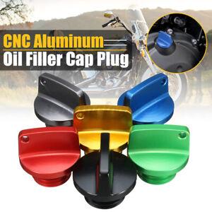 CNC Aluminum Universal Motorcycle Motorbike Oil Filler Cap Plug UN!! -