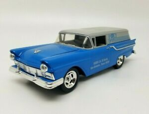 Eastwood 1957 FORD Sedan VINTAGE AIR Delivery Street Hot Rod Diecast Bank w Box