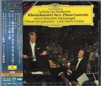 Beethoven Piano Concertos 1,3&5 Piano Sonata 4 Michelangeli/Giulini Japan SACD