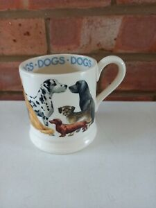Emma Bridgewater Dogs All Over Dogs - 1/2 Pint Mug - New