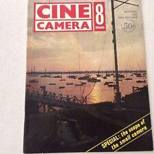Cine Camera 8mm Magazine The Scope Of The Small Camera November 1963 061517nonrh