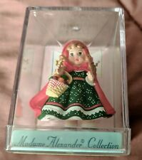 2000 Hallmark Merry Miniatures Madame Alexander Little Red Riding Hood 1991 Nib