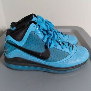 "Nike Air Max Lebron 7 ""All Star"" 2010 Men's Size 9 Shoes Blue Basketball Sneaker"