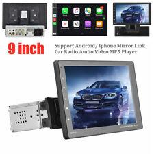 9'' Detachable Touch Screen AUX USB Universal Car Radio Audio Video MP5 Player