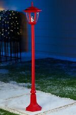 6ft (1.8m) Christmas Street Lamp & Bow