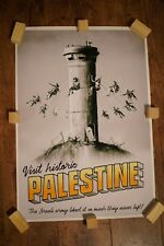 BANKSY WTM PALESTINE POSTER/ HIGH QUALITY PRINT - UNFRAMED - A2 - REPRODUCTION.