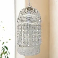 Easy Fit Chandelier Style Ceiling Pendant Light Shade Acrylic Beads Lighting New