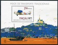 Macau Macao 1989 Block 11 Flugzeug Airplane Aircraft Aviation Postfrisch MNH