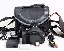 Canon EOS Rebel T3i / 600D 18.0 MP Digital SLR Camera Body ONLY 8k SHUTTER COUNT