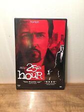 25th Hour (DVD, 2003, Widescreen) Edward Norton