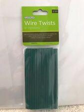Job lot joblot 12 x Gardman Wire Twists Pack of 100 (127mm) Plant Support ties