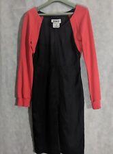 Martin Margiela x Opening Ceremony Fw11 Red Sweatshirt Sleeve Black Dress 40 MM6