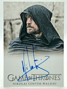 2020 Game of Thrones Complete Autograph Card - NIKOLAJ COSTER-WALDAU as Jamie